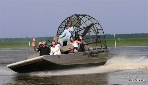airboat near orlando willgoto united states florida boat tours and space coast