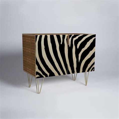 zebra credenza natalie baca zebra stripes credenza deny designs home