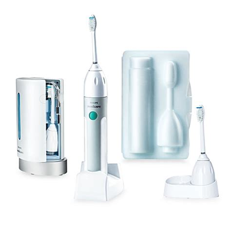 bed bath and beyond sonicare philips sonicare 174 essence e5500 and uv sanitizer bed