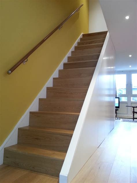 Solid Banister by Solid Oak Stair Clear Matt Finishing Designed By Www