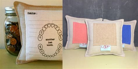 Lost Tooth Pillow by 8 Diy Projects For Tooth Day The Cusp