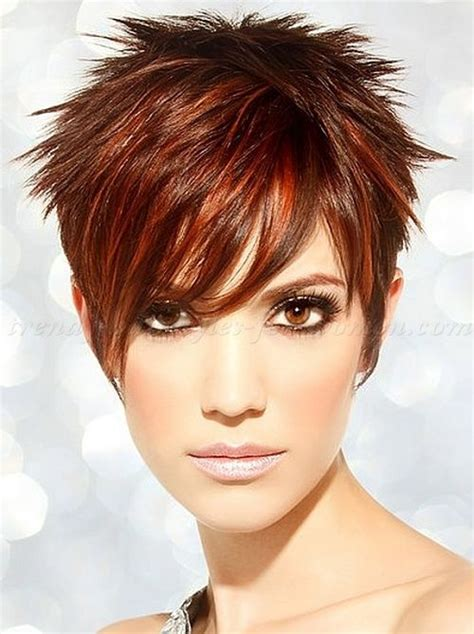 stylish spiked on top only cut for women bold and beautiful short spiky haircuts for women 2015