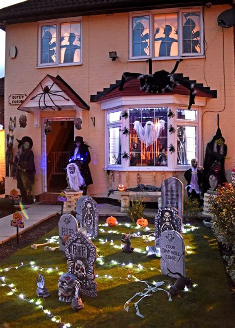 halloween decorated homes watch is this liverpool s scariest house family