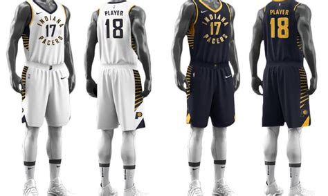 jersey design indiana pacers the indiana pacers new nike jerseys are either the