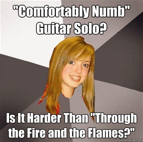 comfortably numb guitar solo quot comfortably numb quot guitar solo is it harder than quot through