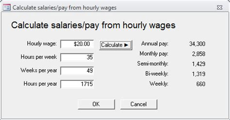 calculator yearly income type of salary