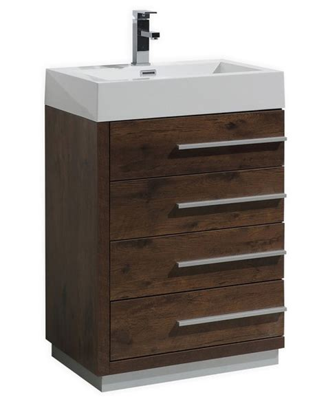 24 bathroom vanity with drawers 24 inch wood finish modern bathroom vanity with four