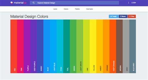 web design color schemes trendy web color palettes and material design color