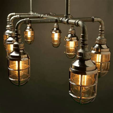 Pipe Chandelier Diy 17 Best Images About Diy Pipe Ls On Pinterest Copper Hanging Chandelier And Metal Pipe