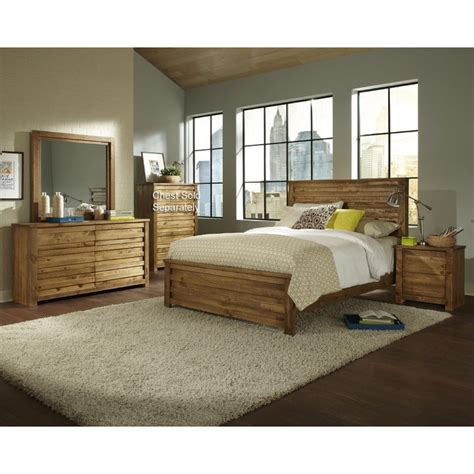 king bedroom sets melrose 6 piece cal king bedroom set
