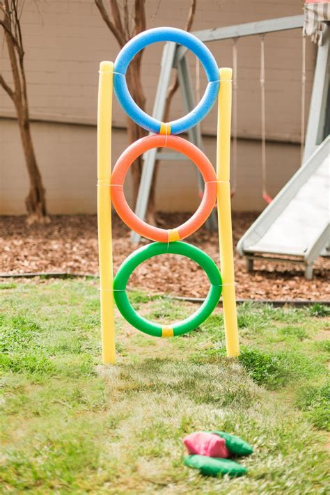 Backyard Using Pool Noodles 10 Ways To Turn Pool Noodles Into Almost Free Backyard