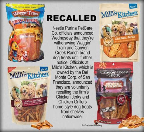 recalled treats treats recall
