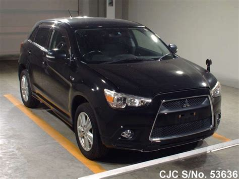 mitsubishi rvr 2010 2010 mitsubishi rvr black for sale stock no 53636