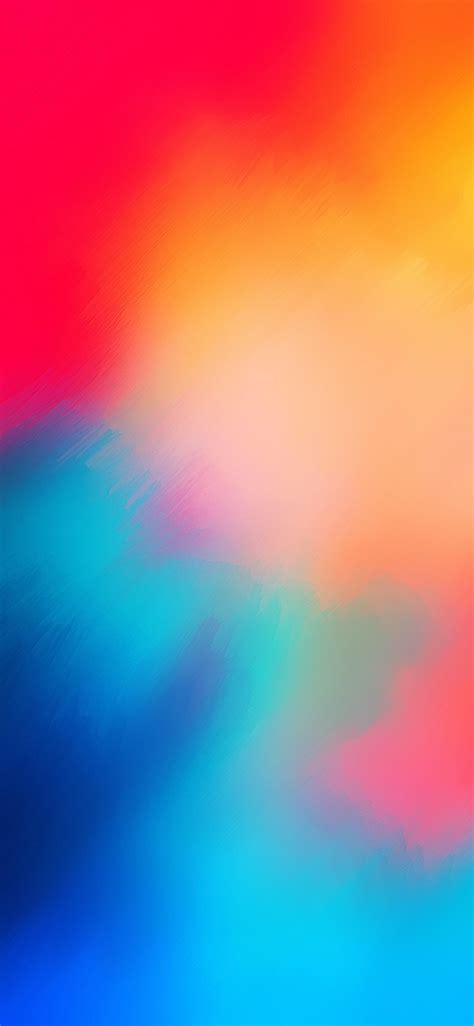 ios  iphone  blue red abstract apple wallpaper