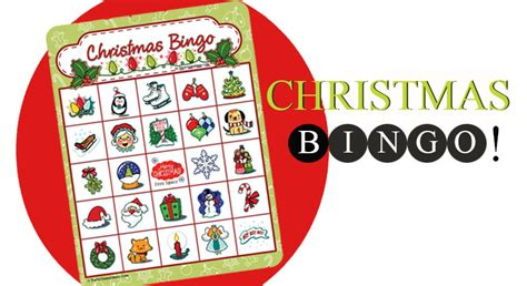 Christmas Games To Play With Gift Cards - christmas bingo printable christmas bingo cards