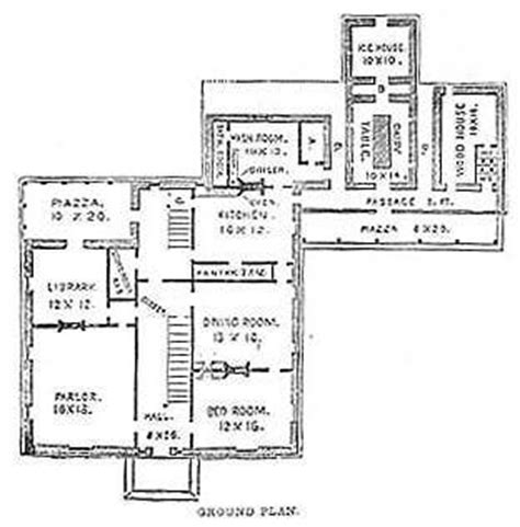 19th century floor plans 17 best images about farm houses on pinterest home still