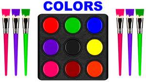 when do children learn colors colors for children to learn with color palette colours