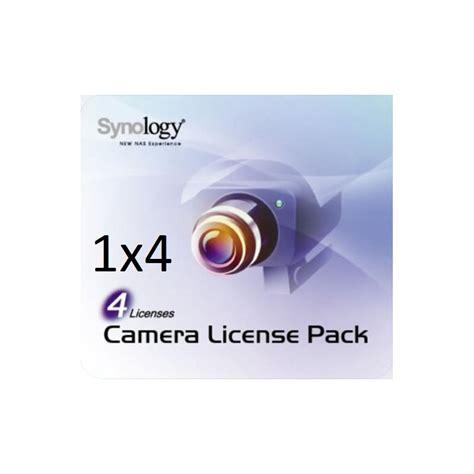 synology license synology kamera lizenz 4x license pack