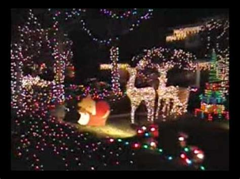 christmas lights in the city of ontario california