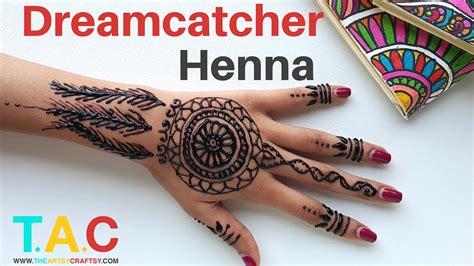 henna tattoo hand r cken dreamcatcher henna feat tmk henna