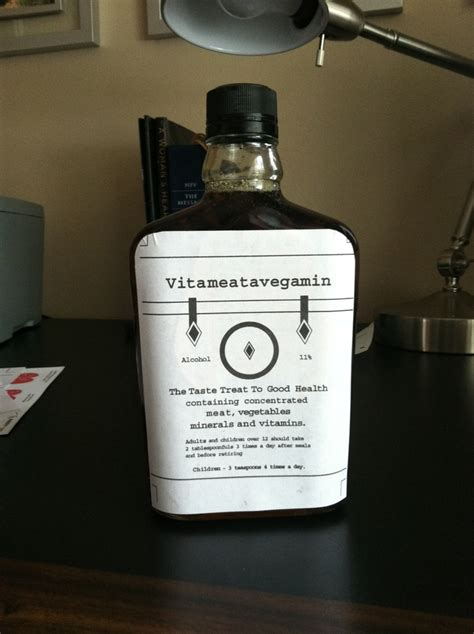 printable vitameatavegamin label made my own vitameatavegamin bottle i couldn t find an