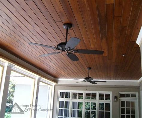 painting stain  wood ceiling