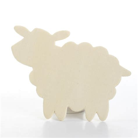 cardboard sheep template unfinished wood sheep cutout wood cutouts unfinished