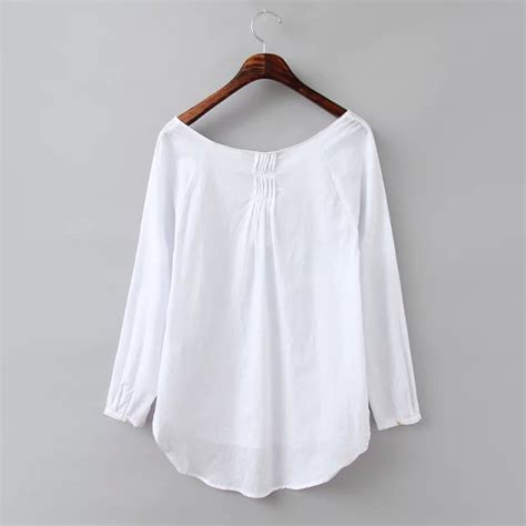 White Cotton Blouses For by Cotton White Blouse Clothing