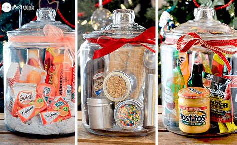 in a jar gifts gifts in a jar simple inexpensive and one