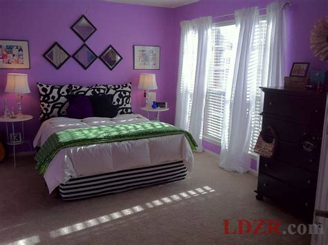 teen bedroom design ideas with purple color and curtains home design idea bedroom decorating ideas purple walls