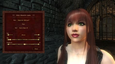 hair packs of tes iv oblivion for female only by radioragae abriael human races reved at oblivion nexus mods and