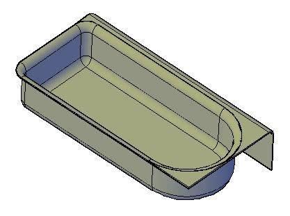Baignoire Dwg by Bathtub 3d Dwg Model For Autocad Designs Cad