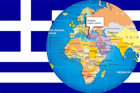 map world greece where is greece on world map travel around the world