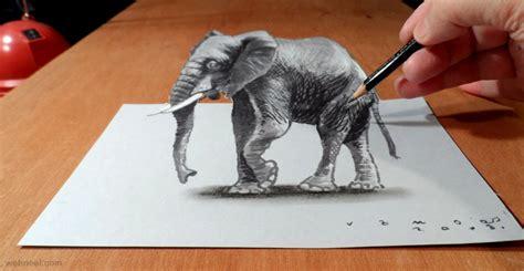 tutorial gambar 3d art 3d pencil drawings 5 preview