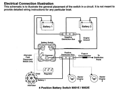 4 battery wiring diagram quot chip ahoy quot installing a second battery and 4 way switch