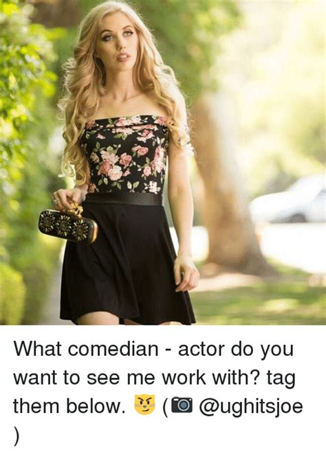 what do you expect to see on a good personal portfolio website link what comedian actor do you want to see me work with tag