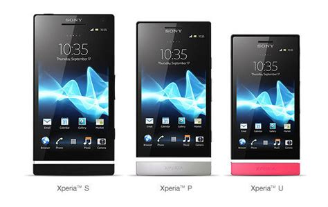 sony mobile communication sony mobile communications introduces xperia p and xperia