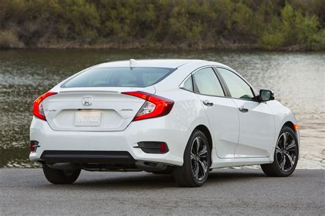 honda civic 2016 2016 honda civic touring 1 5t sedan second drive review