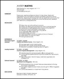 Leasing Consultant Duties Resume Free Creative Apartment Leasing Consultant Resume Template