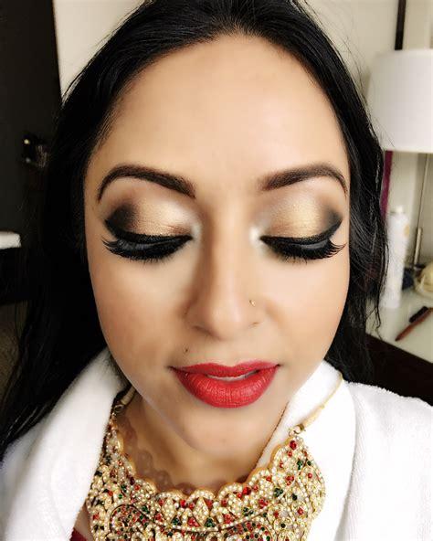 Wedding Hair And Makeup Calgary by Indian Wedding Makeup Artist Edmonton Saubhaya Makeup