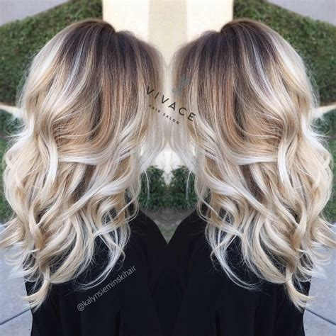 image result for blunt bangs and balayage coiffure coiffures m 232 ches et beaut 233 balayage blond le charme dans 20 mod 232 les inspirants coiffure simple et facile