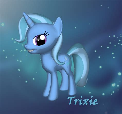 Lucky 3d 3d trixie by lucky the pony on deviantart