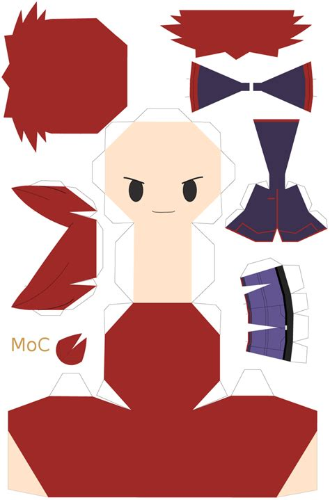 Papercraft Template Maker - papercraft silver template by mountainofcookies on deviantart