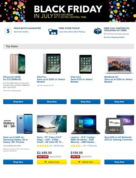 bestbuy black friday in july 2018 ads deals and sales