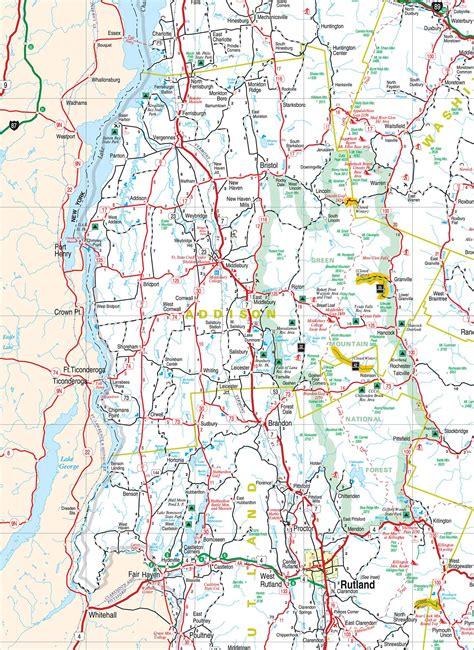 maps map vermont