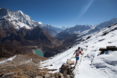 nepal new land namaste manaslu mountain trail race manaslu mountain