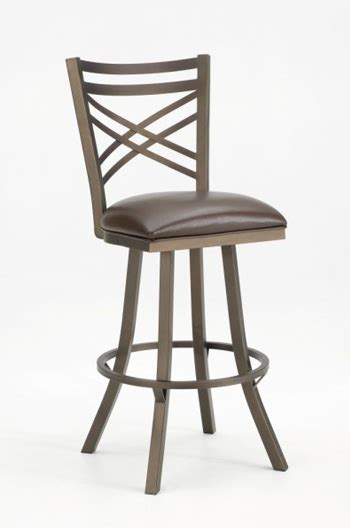 callee rebecca swivel stool  flared legs cross   shipping