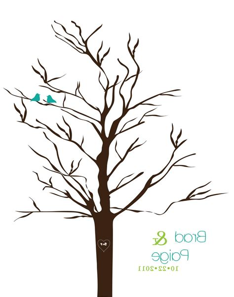 Wedding Tree Template Clipart Best Wedding Tree Template
