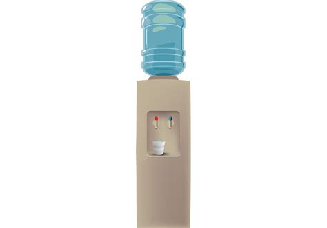 Water Dispenser Vector free water cooler vector