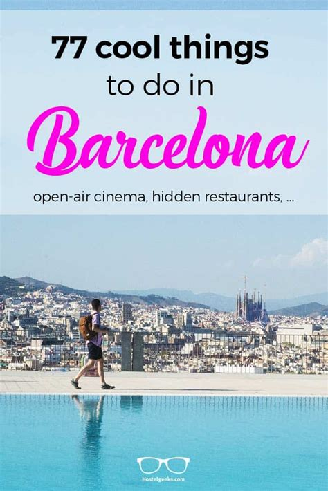 77 cool things to do in barcelona 2017 roof tops beaches